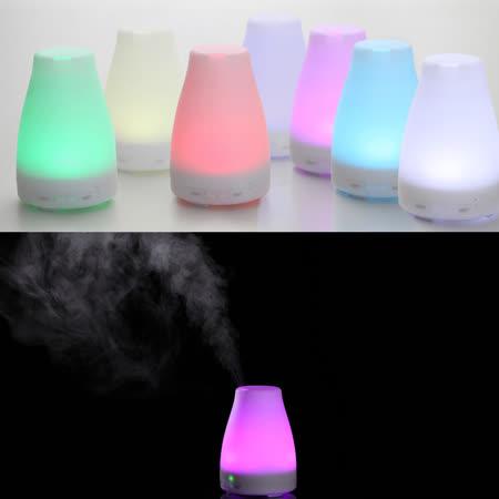 【ANDZEN】日系風格香氛負離子水氧機(AZ-1008 七彩燈)+贈澳洲單方純精油10mlx3瓶