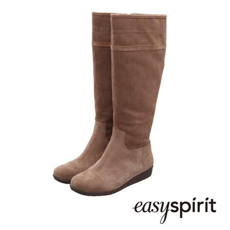 【勸敗】gohappy 線上快樂購Easy Spirit  完美素面保暖小坡跟長筒靴--百搭駝去哪買板橋 遠 百 fe21