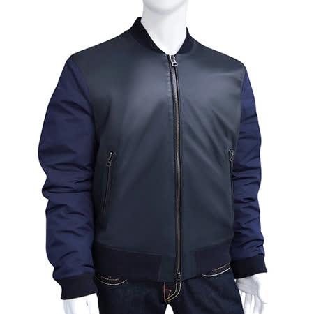 【好物分享】gohappy快樂購物網BURBERRY 小羊皮短版紳士夾克外套-深藍色【L號】評價怎樣板橋 遠東 週年 慶