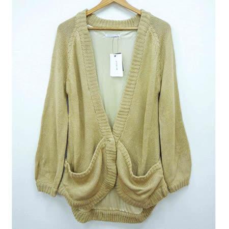 現貨-日本CIELO 內襯針織外套(駝/M)