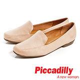 Piccadilly(女)麂皮直套休閒鞋-淺粉