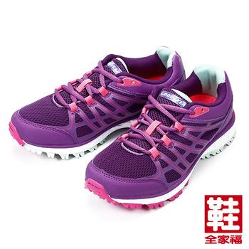 (女) GOODYEAR 輕量戶外踏青鞋 紫 固特異 鞋全家福