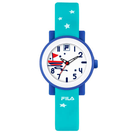 FILA  翱翔大海休閒運動童錶-藍