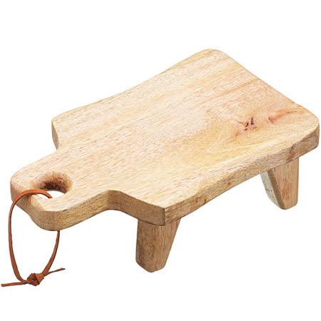 《Master》芒果木高腳輕食盤(25cm)