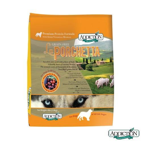 Addiction 自然癮食 無穀野牧豬肉寵食 犬糧 1.8公斤 X 1包
