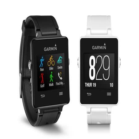 GARMIN vivo-active GPS 智慧運動錶 黑/白 穿戴裝置 簡約輕薄 水下50米  免運