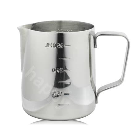 寶馬牌奶泡拉花杯刻度測量杯350ml