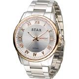 STAR 時代 羅馬戰士石英腕錶 1T1512-211RG-W