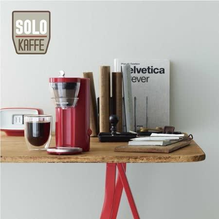 recolte 日本麗克特 Solo Kaffe 單杯咖啡機-熱情紅