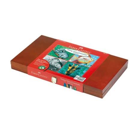 Faber-Castell 輝柏 Young Artist Essentials Gift Set 14528 精裝木盒組