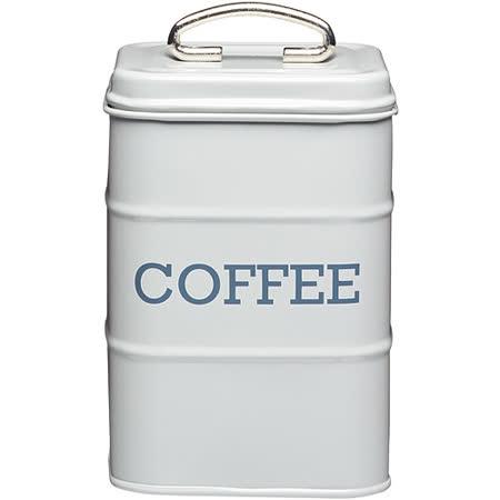 《KitchenCraft》復古咖啡收納罐(灰)