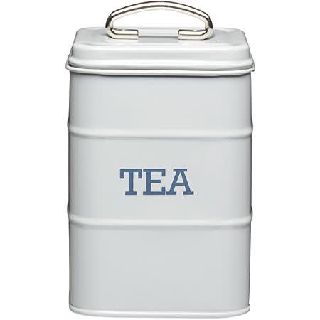 《KitchenCraft》復古茶葉收納罐(灰)