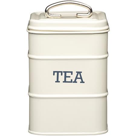 《KitchenCraft》復古茶葉收納罐(奶油黃)
