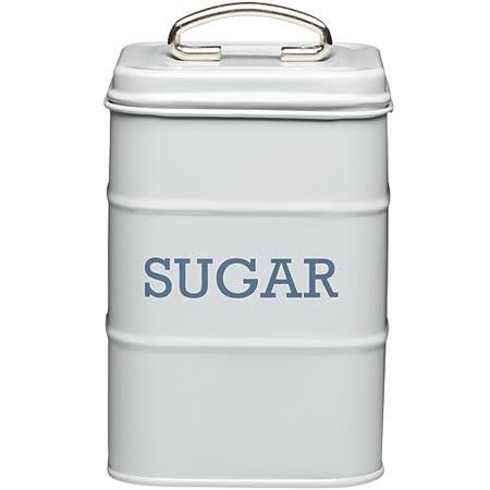《KitchenCraft》復古糖收納罐(灰)