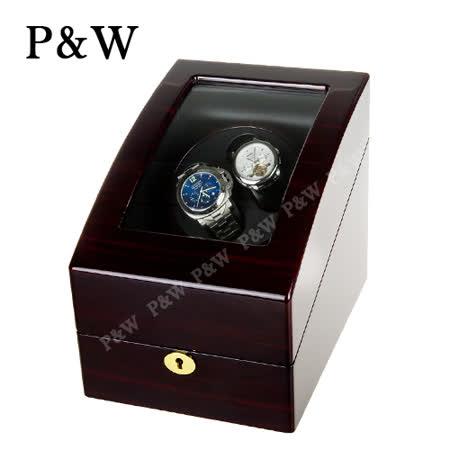 【P&W手錶自動上鍊盒】【木質鋼琴烤漆】2+3只裝 四種模式 機械錶專用