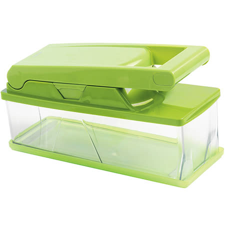 《MASTRAD》3刀法壓式切片器(綠)