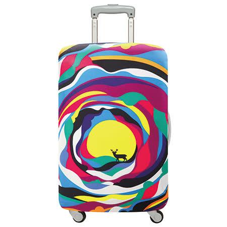 【勸敗】gohappy快樂購LOQI 行李箱套│巴塞隆納【L 號】去哪買太平洋 百貨 復興 館