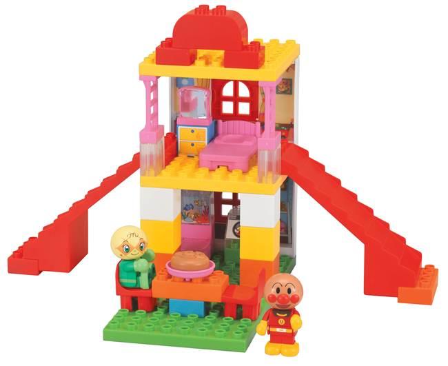 《 麵包超人 》ANP 積木工場玩具