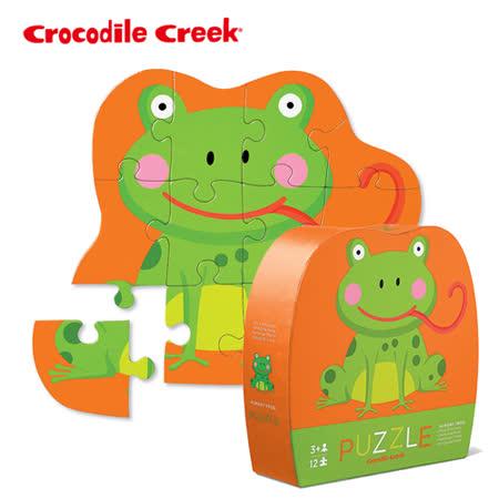 【美國Crocodile Creek】迷你造型拼圖系列-俏皮小青蛙