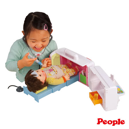 【勸敗】gohappy 線上快樂購《 People 》POPO - CHAN 會說話的救護車變身醫院組合推薦快樂 購物 網 評價