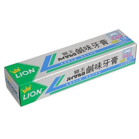 LION 獅王鹹味牙膏200g