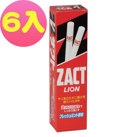 LION 日本獅王 漬脫牙膏150g (6入)