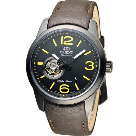 ORIENT 東方錶 SEMI-SKELETON 系列半鏤空機械錶 FDB0C001B