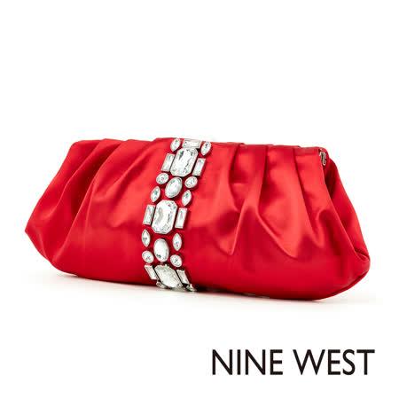 【開箱心得分享】gohappy快樂購NINE WEST--搶眼鑽飾晚宴手拿包--鑽飾紅哪裡買愛 買 麥當勞