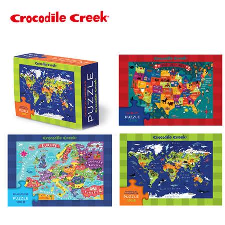 【美國Crocodile Creek】火柴盒智慧拼圖系列-3入組