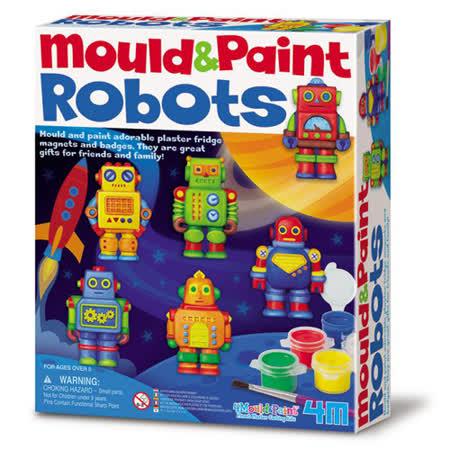 (購物車)《4M美勞創作》機器人大集合 (磁鐵系列)