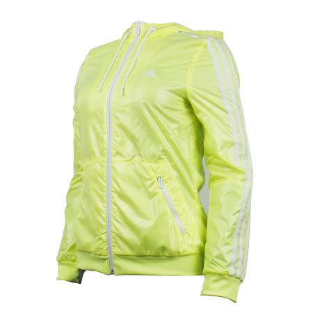 (女)ADIDAS EN 3S WBRK 外套 螢光綠-AB3306