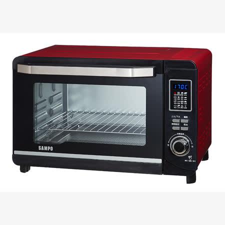【私心大推】gohappy快樂購『SAMPO』☆聲寶 30L 微電腦雙溫控烤箱 KZ-PC30F去哪買太平洋 sogo 雙 和 店