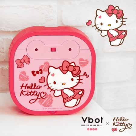 Vbot x Hello Kitty 二代限量 鋰電池智慧掃地機器人(極淨濾網型)(粉)