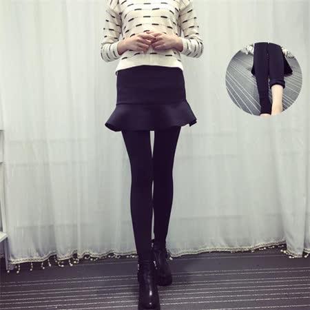 【Kate Classic 】優質魚尾裙內裡加絨假兩件九分裙褲LB88
