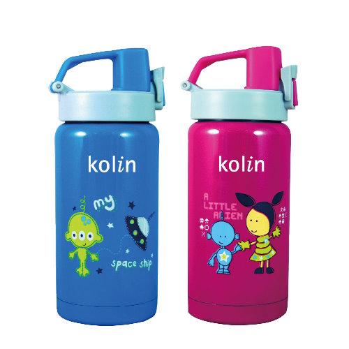 【KOLIN】歌林兒童保溫瓶400c.c KPJ-JB401(兩色任選)