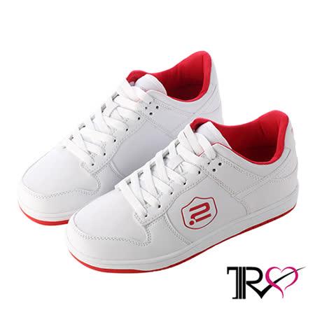 【網購】gohappy線上購物【TRS】極簡時尚內增高休閒鞋 ↑7cm 白(7100-0002)價錢快樂 購
