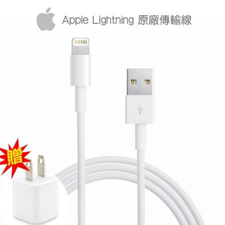 【Apple】Lightning 8pin 原廠 傳輸充電線(贈APPLE原廠豆腐頭)