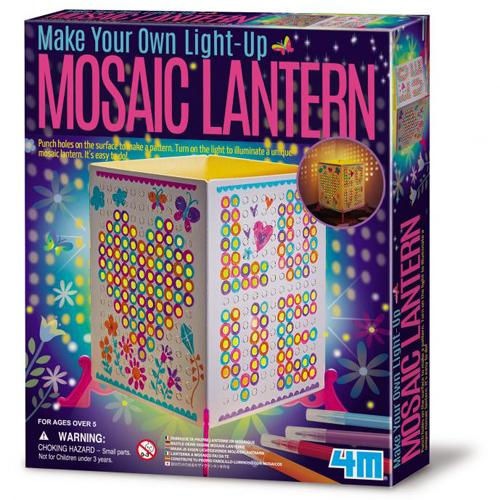 ^( 車^)~ 4M美勞創作 ~Mosaic Lantern 馬賽克燈籠