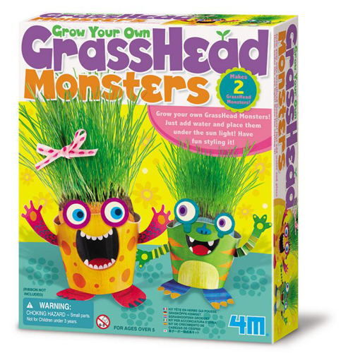 ^( 車^)~4M美勞創作~ GrassHead Monsters 草頭怪獸