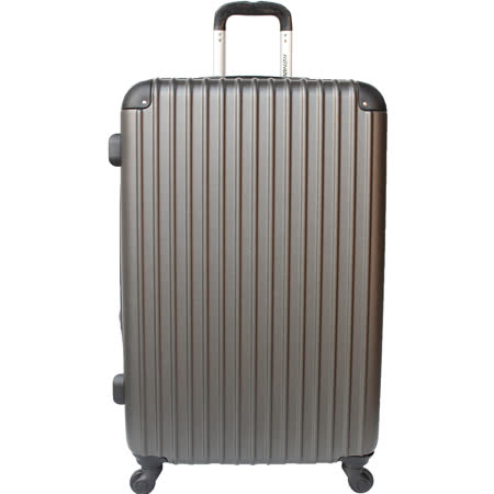 【YC Eason】超值流線型20吋可加大海關鎖款ABS硬殼行李箱(雅痞灰)