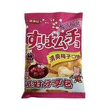 酸叭姆久平切洋芋片-清爽梅子口味150g