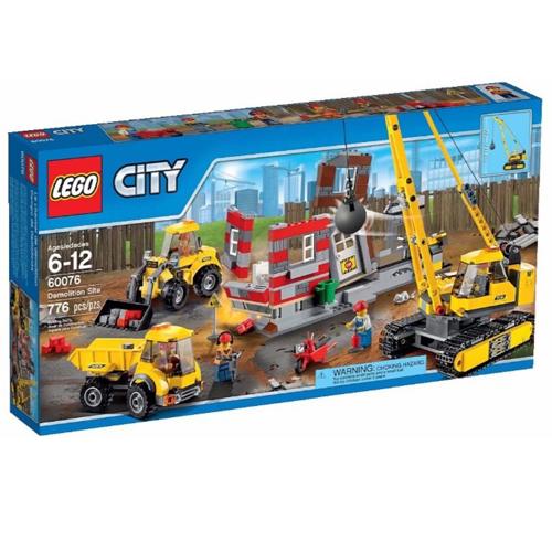 LEGO~ LT60076 ~2015 年 CITY 城市系列 ~ 爆破現場