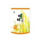 旺旺仙貝台灣嚴選糙米-輕海鹽佐胡椒84g