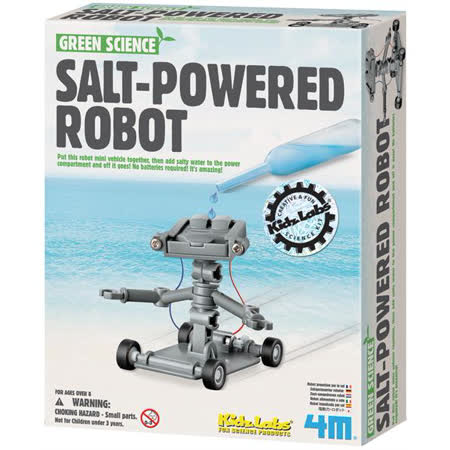 《 4M科學探索 》Salt Water Power Robot 氯化鈉機器人