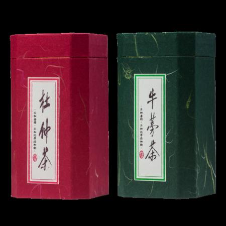 【林銀杏-養生茶組合】牛蒡茶 150g / 罐 + 杜仲茶 165g/罐
