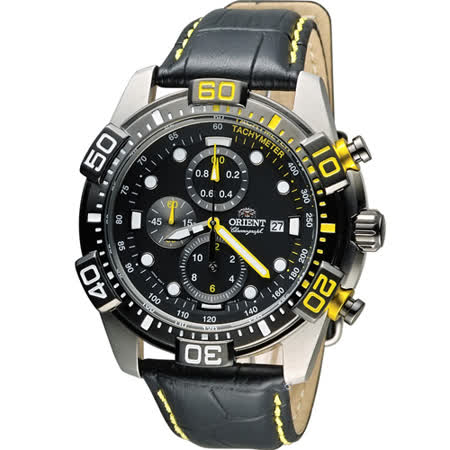 ORIENT 東方錶怒海急先鋒計時腕錶 FTT16005B