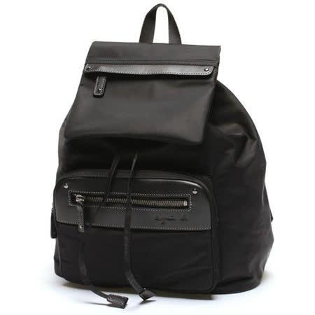 【agnes b.】精選都會OL最愛後背包-黑色