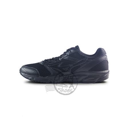 (男)MIZUNO 美津濃 MAXIMIZER 18 慢跑鞋 黑-K1GA161409