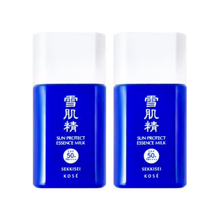 【KOSE 高絲】雪肌精極效輕透防曬乳SPF50+/PA++++ 25gx2入組
