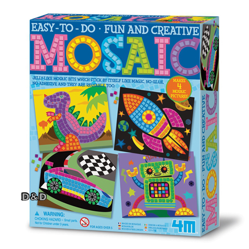 ^( 車^) ~4M美勞創作~ Mosaic Art~Girl 馬賽克藝術組 ^(男孩版^